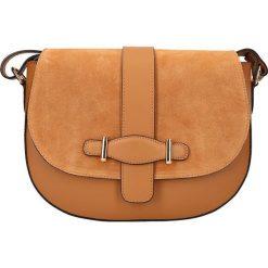 """Torebki klasyczne damskie: Skórzana torebka """"Trocadero"""" w kolorze karmelowym – 29,5 x 23 x 9,5 cm"""