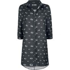 Disturbia Eye Spy Shirt Dress Sukienka czarny. Czarne sukienki na komunię marki Mohito, l, z dekoltem na plecach. Za 121,90 zł.