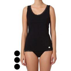 Podkoszulki damskie: Podkoszulek (3 szt.) w kolorze czarnym