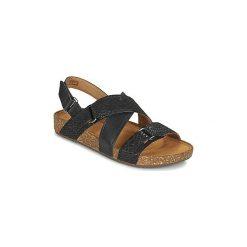 Sandały Clarks  ROSILLA ESSEX. Czarne sandały damskie marki Clarks. Za 279,20 zł.