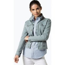 Bomberki damskie: soyaconcept® - Damska kurtka jeansowa, zielony
