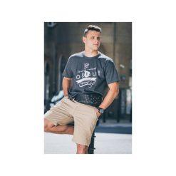 T-Shirt Nokaut szary. Szare t-shirty męskie z nadrukiem Nokaut costume, xl, z bawełny. Za 45,00 zł.