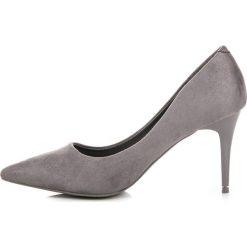 Czółenka na szpilce GIULIANA. Szare buty ślubne damskie SEASTAR, na szpilce. Za 89,90 zł.