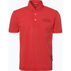 Napapijri - Męska koszulka polo – Elbas 1, czerwony. Szare koszulki polo marki Napapijri, l, z materiału, z kapturem. Za 199,95 zł.