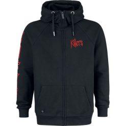 Iron Maiden EMP Signature Collection Bluza z kapturem rozpinana czarny. Czarne bluzy męskie rozpinane Iron Maiden, m, z aplikacjami, z materiału, z kapturem. Za 194,90 zł.