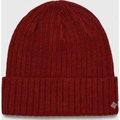 Columbia - Czapka. Brązowe czapki zimowe męskie Columbia, na zimę, z dzianiny. Za 69,90 zł.