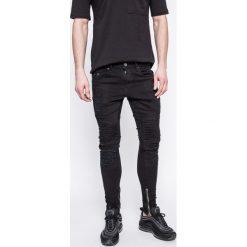 Det - Jeansy Buell. Niebieskie jeansy męskie skinny marki House, z jeansu. W wyprzedaży za 179,90 zł.