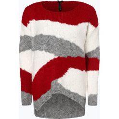 Key Largo - Sweter damski, czerwony. Czerwone swetry oversize damskie Key Largo, l, z dzianiny. Za 279,95 zł.