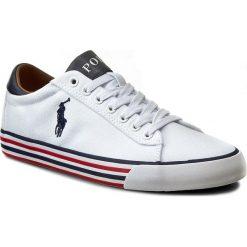 Tenisówki POLO RALPH LAUREN - Harvey A85 Y0296 C0225 W1433 Pure White/Newp 816190758EAD. Białe tenisówki męskie marki Polo Ralph Lauren, z gumy. Za 399,90 zł.
