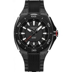 PROMOCJA ZEGAREK CERTINA GENT QUARTZ C023.710.17.051.00. Czarne zegarki męskie marki CERTINA, ze stali. W wyprzedaży za 3190,00 zł.
