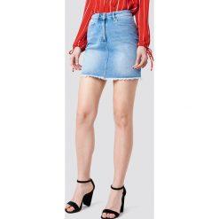 Koszule jeansowe damskie: Kristin Sundberg for NA-KD Koszula jeansowa - Blue