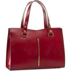 Torebka CREOLE - RBI10146  Czerwony. Czerwone torebki klasyczne damskie Creole, ze skóry. W wyprzedaży za 309,00 zł.
