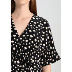 Sukienki hiszpanki: Whistles FRANCES GATHERED ECLIPSE PRINT DRESS Sukienka letnia black/white
