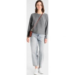 Swetry damskie: Vila VIELASTA KNIT Sweter medium grey melange