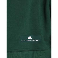 Bluzy rozpinane damskie: adidas by Stella McCartney TRAIN  Bluza dark green
