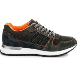 GITANA buty sportowe ze skóry. Szare buty skate męskie MAZARO, ze skóry. Za 189,00 zł.