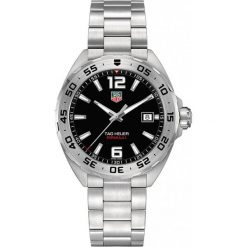 ZEGAREK TAG HEUER FORMULA 1 WAZ1112.BA0875. Czarne zegarki męskie marki KALENJI, ze stali. Za 5230,00 zł.