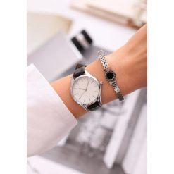 Biżuteria i zegarki: Czarno-Biały Zegarek From Day To Day