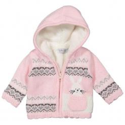 Dirkje Sweter Dziewczęcy Z Kożuszkiem 104 Różowy. Niebieskie swetry dziewczęce marki bonprix, z kapturem. Za 125,00 zł.