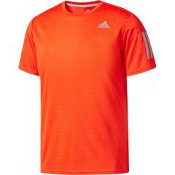 Adidas Koszulka męska Response Short Sleeve Tee pomarańczowa r. L. Białe koszulki sportowe męskie marki Adidas, m. Za 100,80 zł.