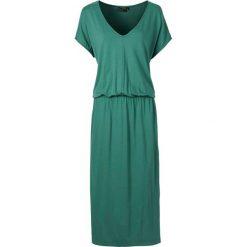 Sukienki: Sukienka midi bonprix zielony butelkowy