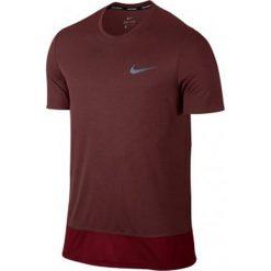 Nike Koszulka męska Brthe Top SS  czerwony r. S. Czerwone koszulki sportowe męskie Nike, m. Za 82,47 zł.
