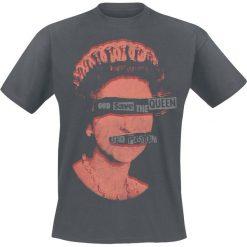 Sex Pistols God Save The Queen T-Shirt ciemnoszary. Niebieskie t-shirty męskie marki Reserved, l, z okrągłym kołnierzem. Za 74,90 zł.