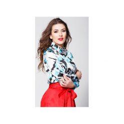 Aline damska bluzka z printem moro. Brązowe bluzki longsleeves marki Cropp, m, moro. Za 199,99 zł.