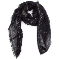 Szal PATRIZIA PEPE - 2V6061/AC64-F1UP Sortilege Black. Czarne szaliki damskie marki Patrizia Pepe, ze skóry. W wyprzedaży za 409,00 zł.