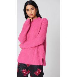 Rut&Circle Sweter z dzianiny Marielle - Pink. Różowe golfy damskie Rut&Circle, z dzianiny. Za 161,95 zł.