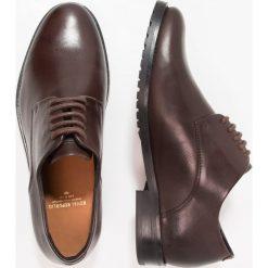 Buty wizytowe męskie: Royal RepubliQ NANO 5 EYE DERBY Eleganckie buty brown
