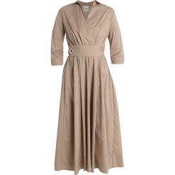 Długie sukienki: Selected Femme SFSABINA 3/4 DRESS Długa sukienka silver mink