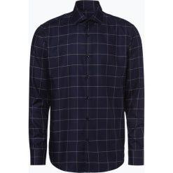 HUGO - Koszula męska – Vordon, niebieski. Niebieskie koszule męskie na spinki HUGO, m, w kratkę, z dekoltem karo. Za 399,95 zł.