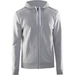 Bluzy męskie: Craft Bluza męska In The Zone Full zip hood Grey r. XL  (1904156 - 2950)