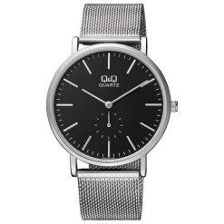 Zegarek Q&Q Unisex Q&Q QA96-222 Fasion Mesh srebrny. Szare zegarki męskie Q&Q, srebrne. Za 137,80 zł.