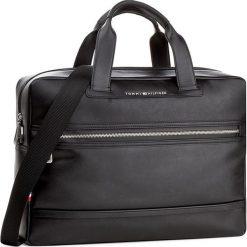 Torba na laptopa TOMMY HILFIGER - City Computer Bag AM0AM02332 002. Czarne plecaki męskie marki TOMMY HILFIGER. W wyprzedaży za 349,00 zł.
