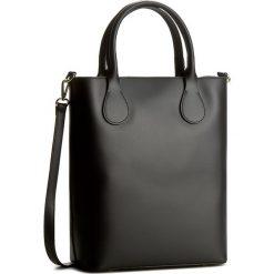 Torebka CREOLE - K10322  Czarny. Czarne torebki klasyczne damskie Creole, ze skóry, duże. W wyprzedaży za 219,00 zł.