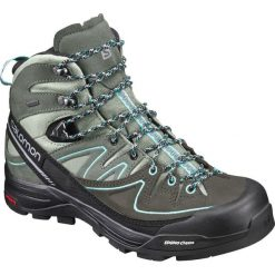 Buty trekkingowe damskie: Salomon Buty damskie X Alp Mid Ltr GTX Shadow/Castor Gray/Aruba Blue r. 40 (394732)