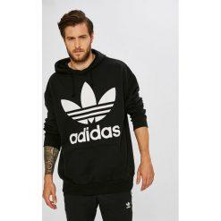 Adidas Originals - Bluza. Szare bluzy męskie adidas Originals, l, z nadrukiem, z bawełny, z kapturem. Za 379,90 zł.