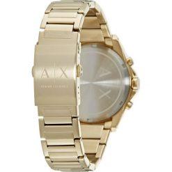 Armani Exchange Zegarek goldfarben. Czarne zegarki męskie marki Armani Exchange, l, z materiału, z kapturem. Za 1009,00 zł.