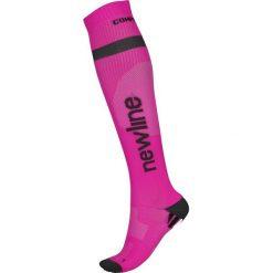 Podkolanówki: Newline  Podkolanówki skarpety kompresyjne do biegania różowe r. 47 – 50 (90941-XXL-600)