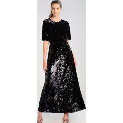 Długie sukienki: JUST FEMALE PALLAS MAXI Długa sukienka black