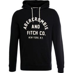 Kardigany męskie: Abercrombie & Fitch BASIC LOGO Bluza black
