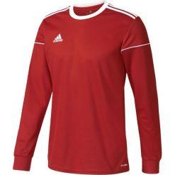 Adidas Koszulka piłkarska męska Squadra 17 Long Sleeve czerwono-biała r. XL (BJ9186). Białe t-shirty męskie Adidas, m, do piłki nożnej. Za 70,91 zł.