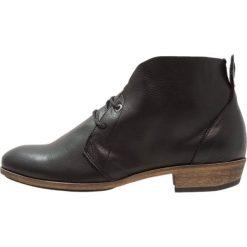 HUB CHUCKIE Ankle boot black/natural. Czarne botki damskie na zamek HUB, z materiału. Za 479,00 zł.