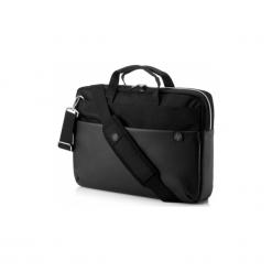 HP Pavilion Accent czarno-srebrna. Czarne torby na laptopa marki HP. Za 129,00 zł.