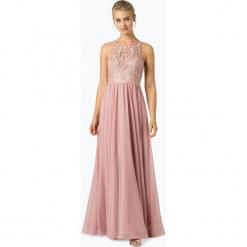 Laona - Damska sukienka wieczorowa, różowy. Czerwone sukienki balowe Laona, m, z koronki, z podwójnym kołnierzykiem. Za 799,95 zł.