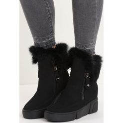 Czarne Sneakersy Be a Fool. Czarne botki damskie na zamek marki Mohito, na obcasie. Za 59,99 zł.