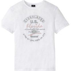 T-shirty męskie: T-shirt Regular Fit bonprix biały