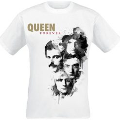 T-shirty męskie: Queen Forever T-Shirt biały